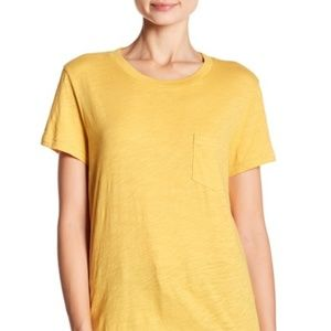 NWT Madewell Crew Neck Pocket T-Shirt